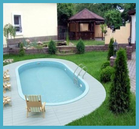 Виды бассейнов для дачи