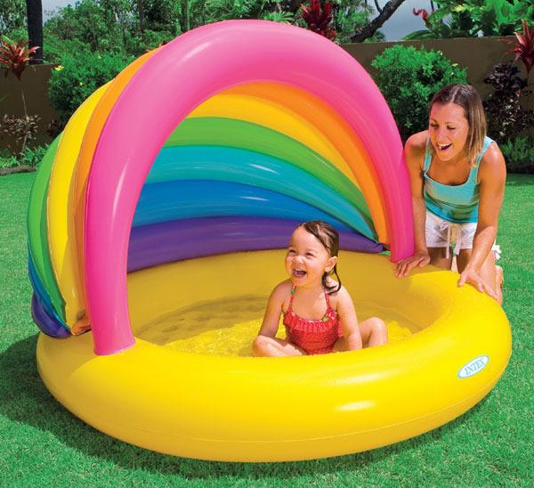 Надувной бассейн - плюсы и минусы
