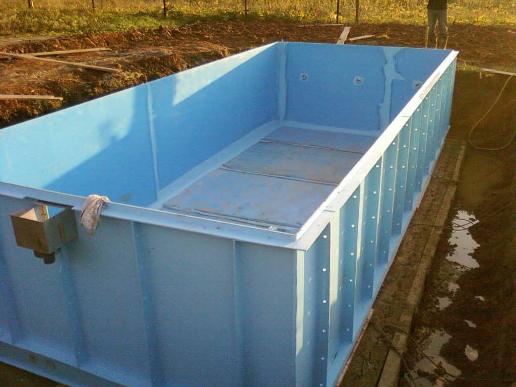 Пластиковые бассейны для дачи